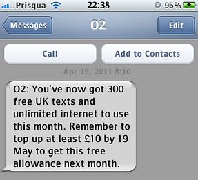 When Unlimited Is Limited by o2
